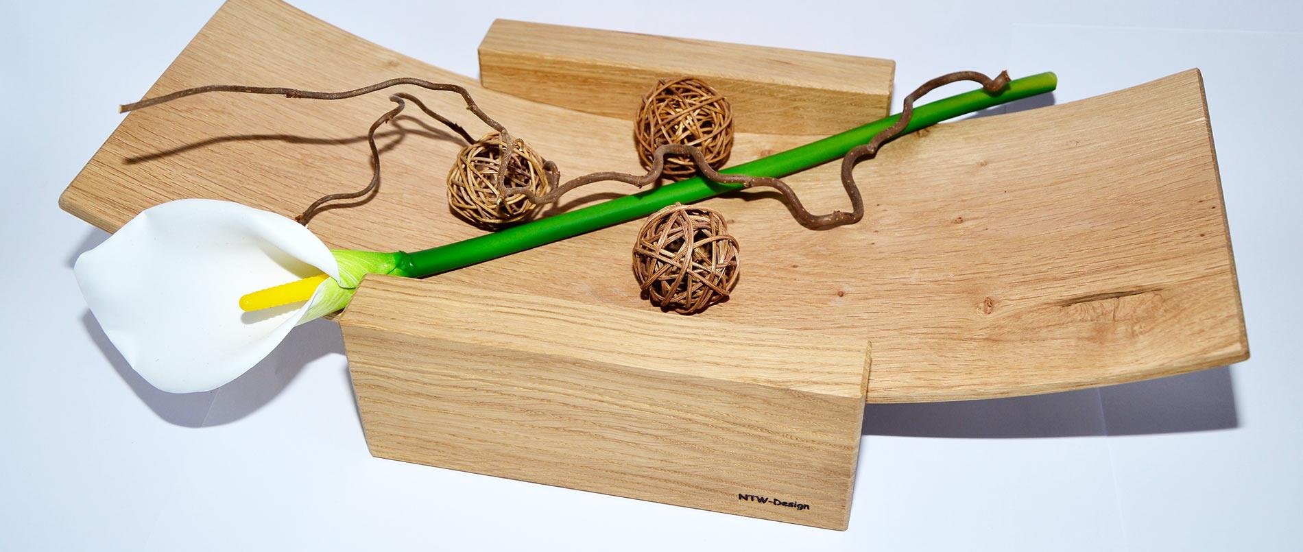 Holzdesignschale